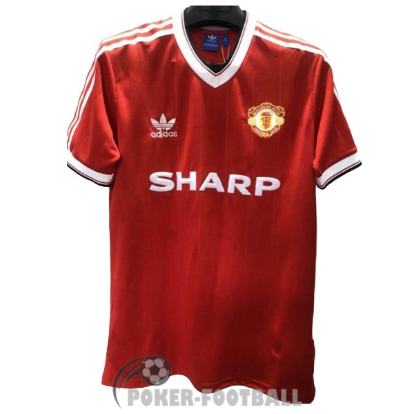 1983-1984 maillot retro manchester united third