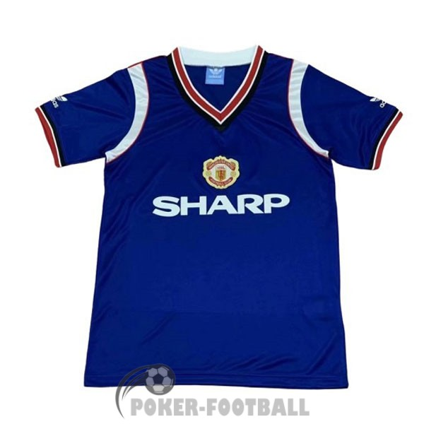 1984-1986 maillot retro manchester united third