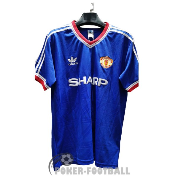1986-1988 maillot retro manchester united third