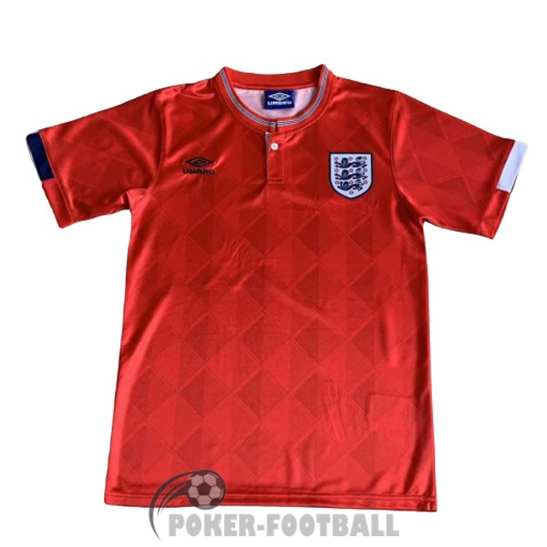1988-1989 maillot retro angleterre exterieur
