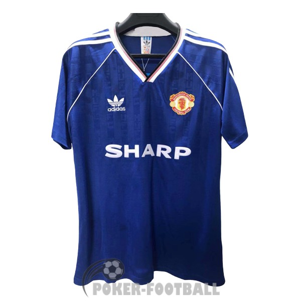 1988-1990 maillot retro manchester united third