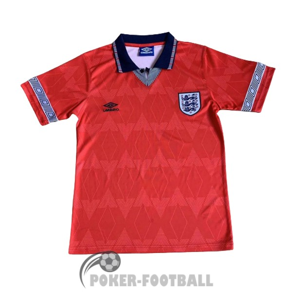 1990-1993 maillot retro angleterre exterieur