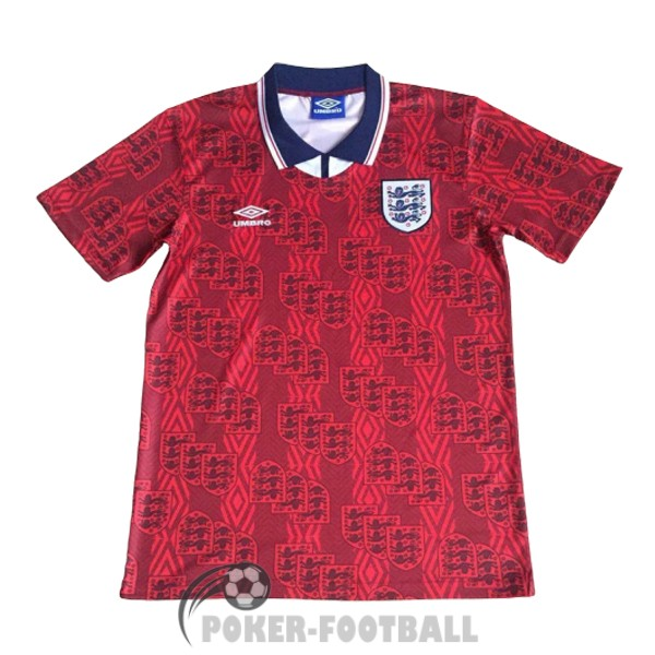 1993-1995 maillot retro angleterre exterieur