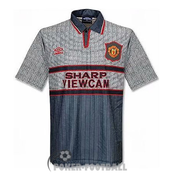 1995-1996 maillot retro manchester united exterieur