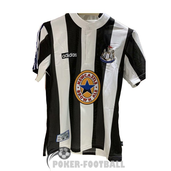 1995-1997 maillot retro newcastle united domicile