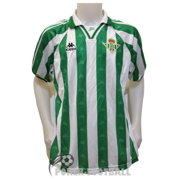 1995-1997 maillot retro real betis domicile