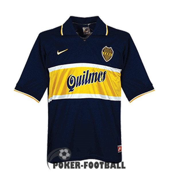 1996-1997 maillot retro boca junior domicile