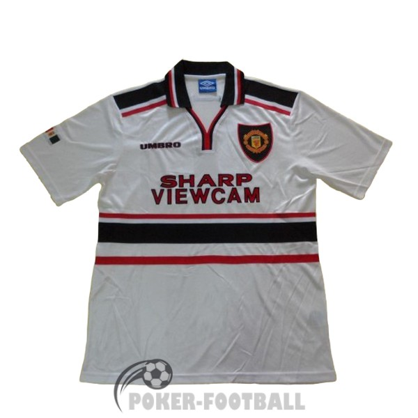 1997-1999 maillot retro manchester united exterieur
