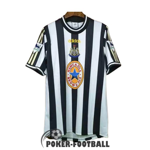 1997-1999 maillot retro newcastle united domicile