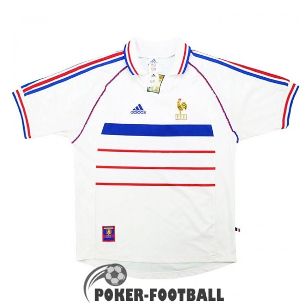 1998 maillot retro france exterieur