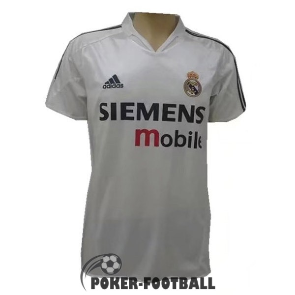 2004 maillot retro real madrid domicile