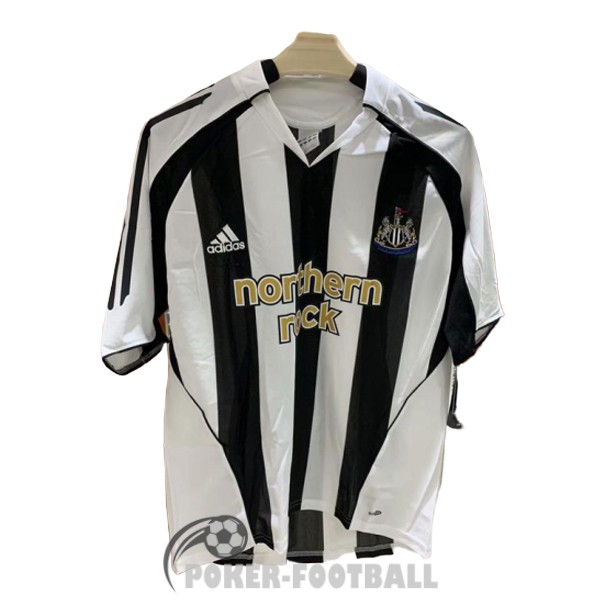 2005-2007 maillot retro newcastle united domicile