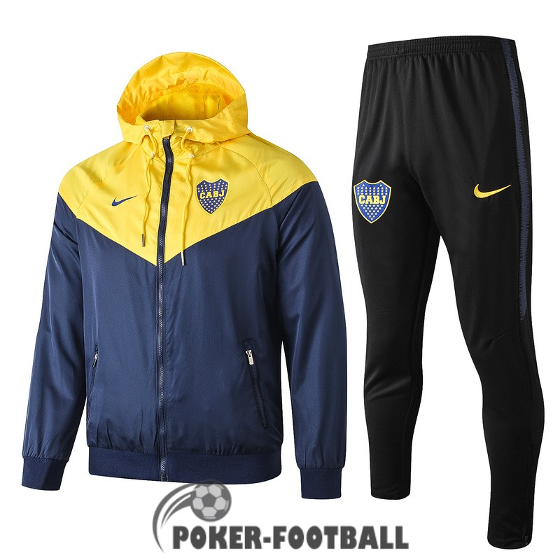 2019-2020 coupe vent boca junior jaune bleu