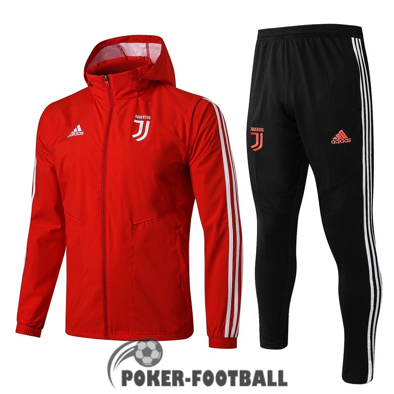2019-2020 coupe vent juventus rouge