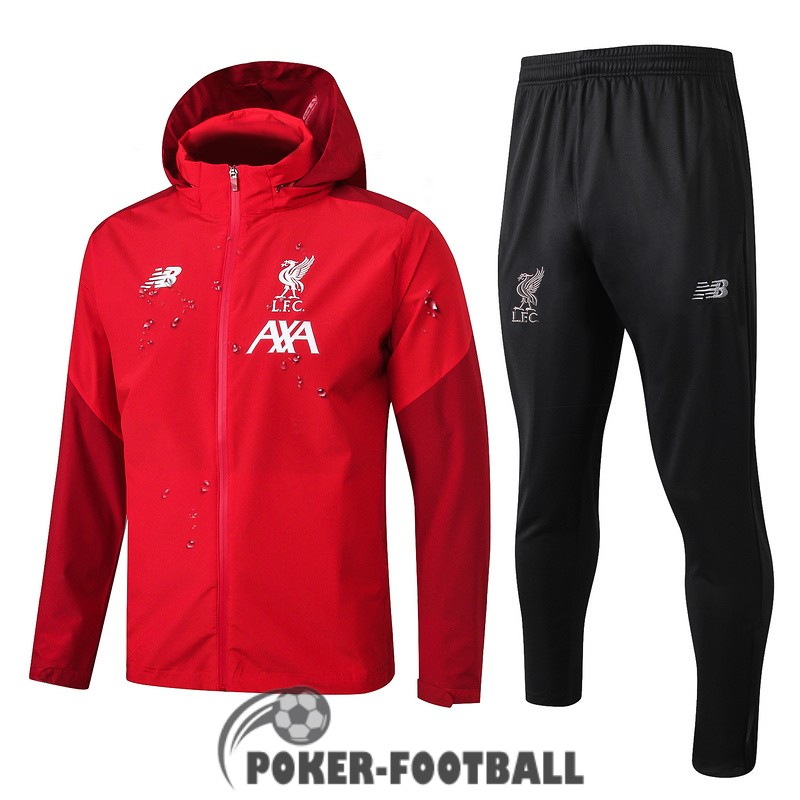 2019-2020 coupe vent liverpool rouge