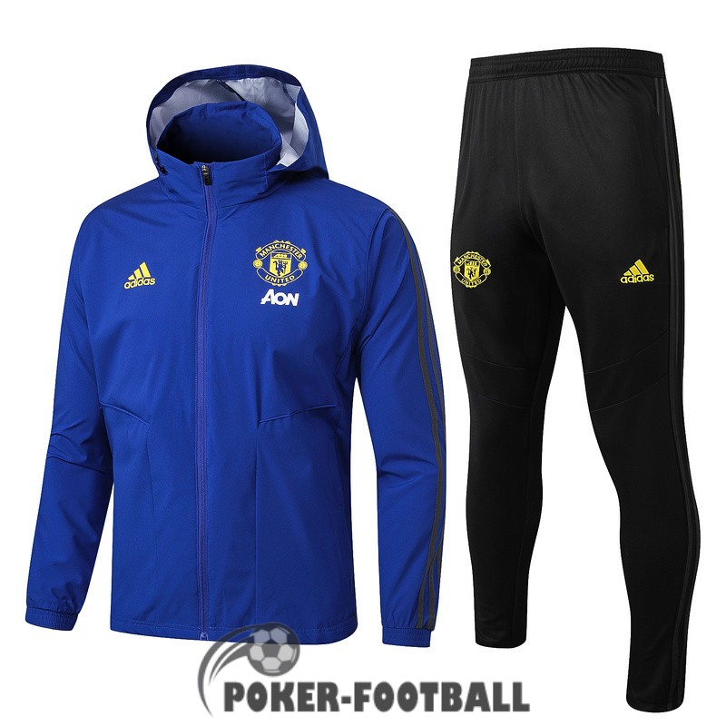 2019-2020 coupe vent manchester united bleu [pork-football-13-172]