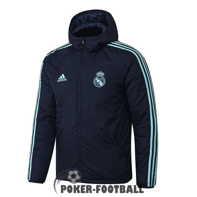 2019-2020 coupe vent real madrid gris fonce