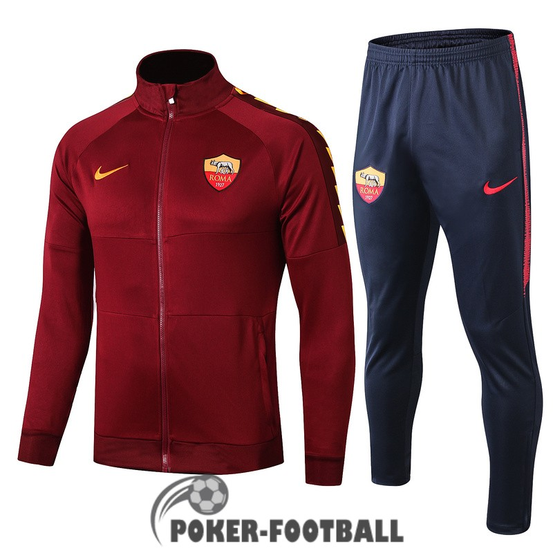 2019-2020 veste as roma rouge