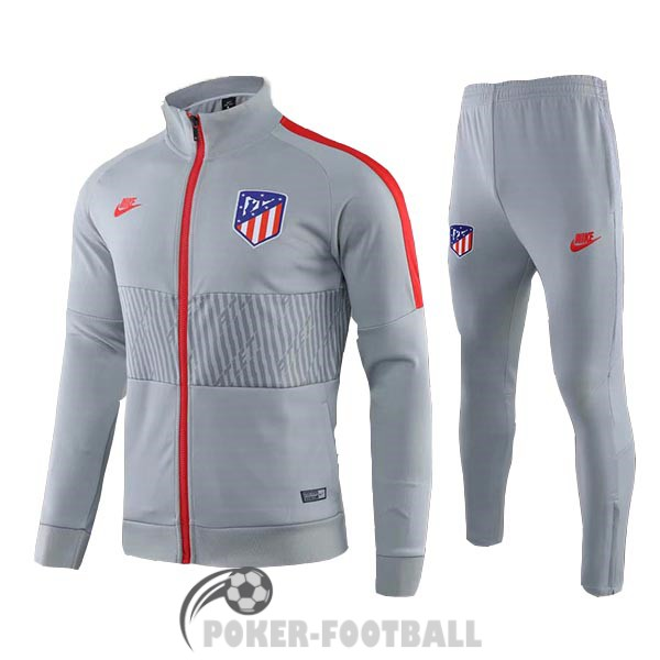 2019-2020 veste atletico madrid gris rouge