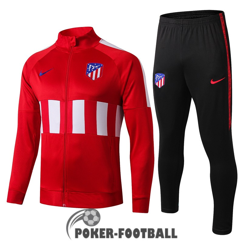 2019-2020 veste atletico madrid rouge blanc