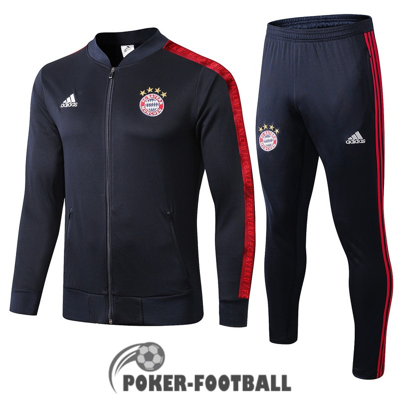 2019-2020 veste bayern munich bleu fonce [poker-football-9-15-92]