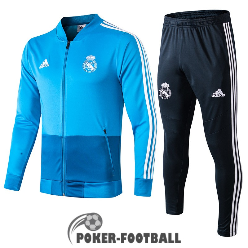 2019-2020 veste real madrid bleu