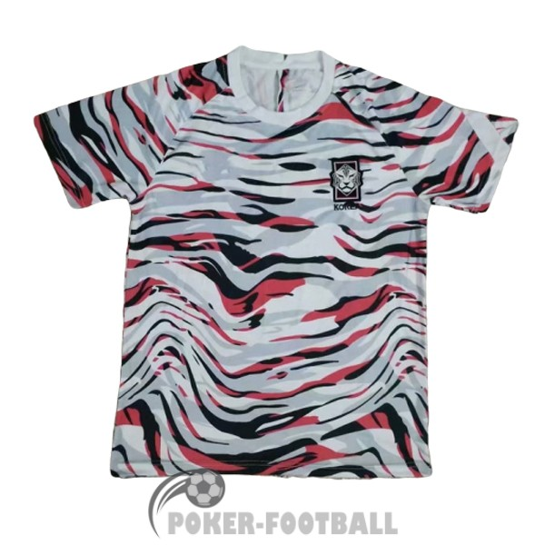 2020-2021 maillot edition speciale crazy capsule coree gris rouge