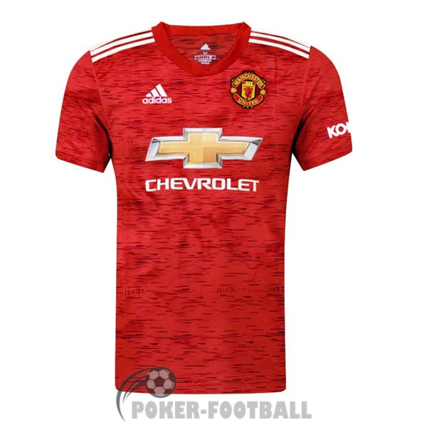 2020-2021 maillot manchester united domicile B