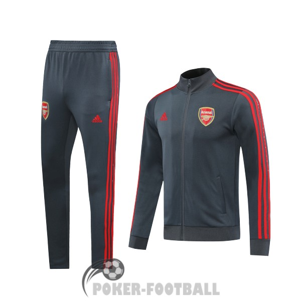2020-2021 veste arsenal gris rouge