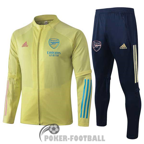 2020-2021 veste arsenal jaune