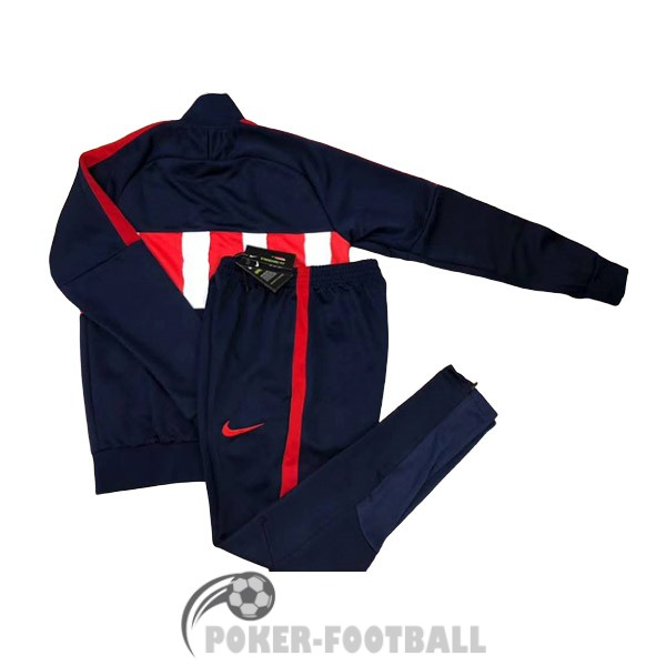 2020-2021 veste atletico madrid rayure rouge blanc<br /><span class=