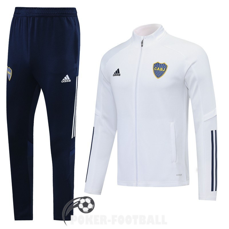 2020-2021 veste boca junior blanc