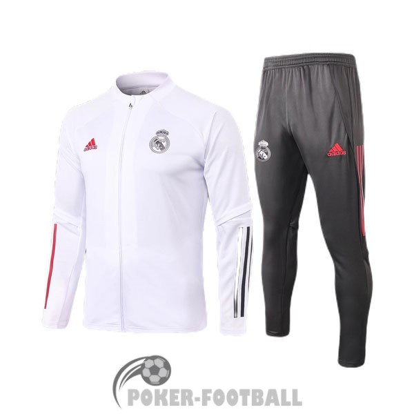 2020-2021 veste enfants real madrid blanc