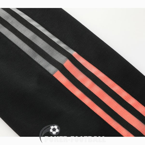 2020-2021 veste juventus sweat s capuche noir orange
