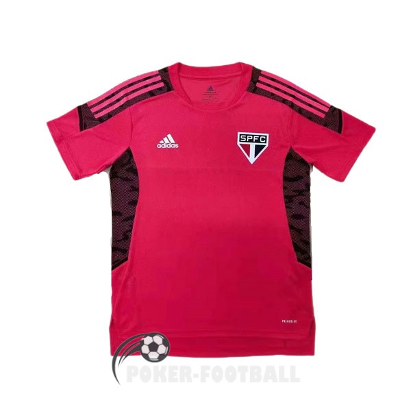 2021-2022 maillot rouge sao paulo entrainement